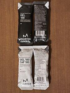 Maurten Hydrogel Sports Fuel Gels - (20) Gel 100 & (20) Gel 100 Caf 100
