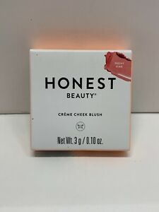 Honest Beauty Crème Cheek Blush, Peony Pink | Blendable New