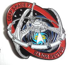 """Star Trek Deep Space 9 Station  MicroFleet DELUXE 2+"""" Cloisonne Pin (STSH006)"""