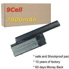 9Cell Battery for Dell Latitude ATG D620 D630 D830N JD634 GD775 NT379 PP18L