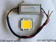 10W 20W 30W 50W 100W Waterproof LED Driver Power Supply + SMD Chip Bulb