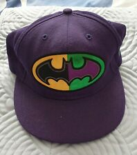 NEW ERA BATMAN 59FIFTY CAP (Purple) - SIZE 7 1/2 - NEW!