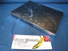 Andy Warhol 2000-2001 Japan Exhibition Catalog Book w Ticket Program Catalogue