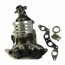 Exhaust Manifold w/ Catalytic Converter For 2001-2005 Honda Civic1.7L L4 SOHC