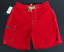 Polo Ralph Lauren Men S Swim Board Shorts Trunks Kailua Swim Red GENUINE NEW
