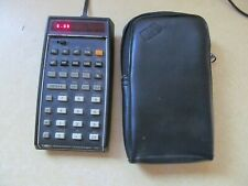 VINTAGE HP PORTABLE CALCULATOR IN GREAT LOOKING / WORKING ORDER HP-45 WITH CASE!