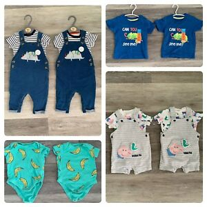 3-6 Months Twin Baby Clothes Bundle