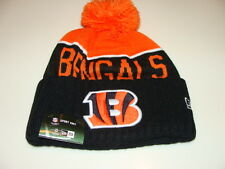 Cincinnati Bengals Knit On Field New Era Toque Beanie Player Sideline Hat Cap