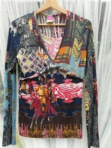 Save The Queen Women's Long Sleeve Blouse Size M