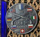 NATO KFOR Kosovo plaque table medal
