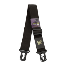 Ernie Ball Polylock Locking Guitar Strap - Black