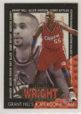1996-97 NBA Hoops Grant Hill's All Team Lorenzen Wright #11 Rookie