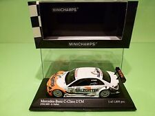MINICHAMPS 93910 MERCEDES BENZ C DTM 2009 -TEAM AMG PAFFETT - WHITE  1:43 NMIB