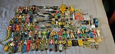 Vintage GI Joe HUGE LOT 1986,1987 RETIRED Action Figures VERY RARE 198+ PIECES!!