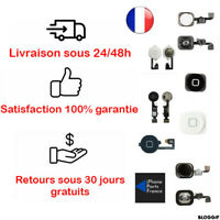 Bouton home iPhone 4 5 5C 5S SE 6 6S PLUS 7 PLUS 8 PLUS neuf qualité origine