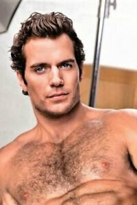 POSTCARD Print / Henry Cavill nude torso / Gay Interest