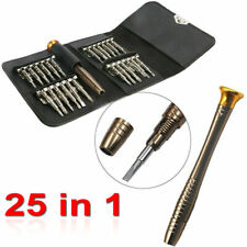 Portable 25 in 1 Screw Driver Cell Phone Laptop Watch Repair Tool Set Kit
