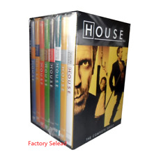 HOUSE M.D. The Complete Series 1-8 (DVD,2012,41-Disc Box Set) Season 12345678