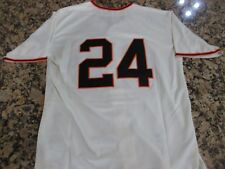 New!!! San Francisco Giants WILLIE MAYS Jersey, Cream, Retro, Throwback 44 Large