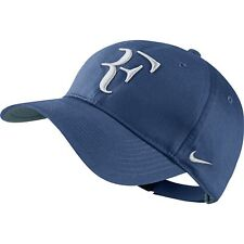 Nike Hybrid Cappello RF Roger Federer-Hat Ocean Nebbia Blu/Bianco Nuovo di Zecca 371202-442