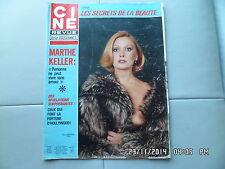 CINE REVUE N°44 03/11/1977 PAOLA QUATTRINI MARTHE KELLER LON CHANEY PRESLE  G68