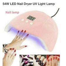 led uv gel nail lamp 54w