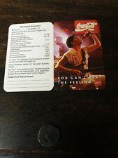 Coca Cola Taschenkalender Faltkalender 1993