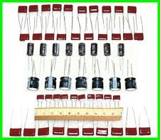 55pc Premium Cap Kit - 33Uf - 22Uf - .22uf - .056uf - .015uf Tube Radio Restore!