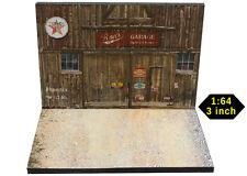 Diorama présentoir Western Garage USA  - 3 inch | 1/64ème - #3in-2-K-K-002