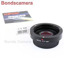 Kipon Contax Yashica C/Y CY lens to Nikon F mount adapter Df D4S D7200 D750 D810