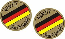 2 x Made In German Stickers Car Surf Vinyl Decal Sticker EURO JDM DUBV Funny VW