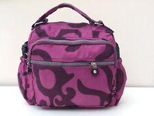 New Mutiple Zip Pocket Travel Bag Crossbody Tote Detachable Strap Lightweight