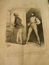 Caricature 1838 - Cours de Droit