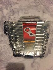 Durable Indexing Combination Ratcheting Wrench Set 12 Piece Surface Drive On Box