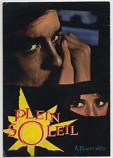 Purple Noon, Plein soleil JAPAN PROGRAM Rene Clement, Alain Delon, Maurice Ronet