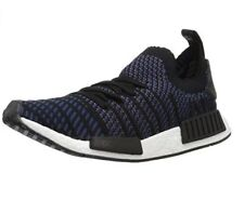 Adidas Originals Women's NMD_R1 STLT PK Running Shoe, Black, Indigo, 5.5 M US