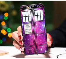Doctor Who Tardis Phone Case Back Cover —iphone 8 NEW  More DW Cases Too!