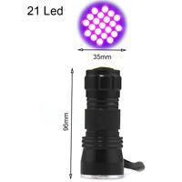 UV Ultra Violet LED Lampe de Poche Lumière Noire 395 nM Lampe d'inspection