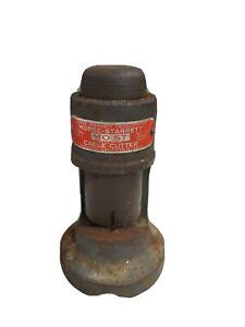 Vintage Morse-Starrett MO-ST Model No.1 Cable Cutter