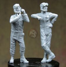 Djiti's 1/35 French AFV Tank Crew Soldiers (Meng AMX 30 & AUF1) (2 Figs.) 35048