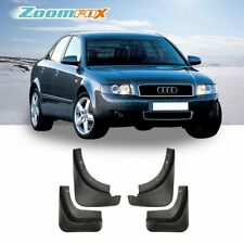 Fit 2002-2005 Audi B6 A4 OE Style Front Rear Set Splash Guards Mud Flaps