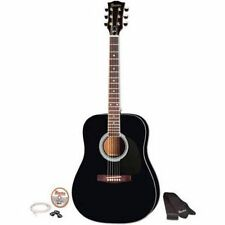 Maestro by Gibson Full Size Acoustic Guitar MA41BKCH - Black