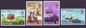 Bermuda 1971 SC 280-283 MH Set Ship