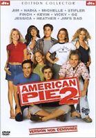 DVD FILM COMEDIE ROMANCE ADO : AMERICAN PIE 2 - EDITION COLLECTOR NON CENSUREE