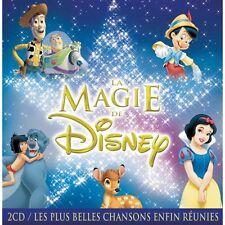 La magie de Disney 2 CD NEUF Cellophane 40 titres