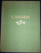 Canada, Landscape and Peuple, Photobook by L.Hamilton, 288 photogravures,1926
