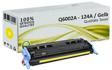 1x XL tóner para HP Color LaserJet 1600 2600n 2605 DN dtn cm 1015 1017 MFP 124a