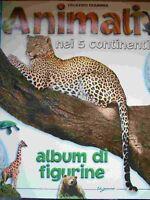 ALBUM FIGURINE ANIMALI NEI 5 CONTINENTI - VUOTO A