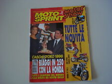 MOTOSPRINT 50/1996 TGB ERGON/RALLY DAKAR/SUPERBIKE/MOTOR SHOW