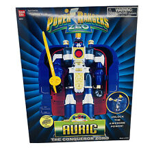 Power Rangers Zeo Auric the Conqueror Zord RARE NEW FACTORY SEALED BOX MINT